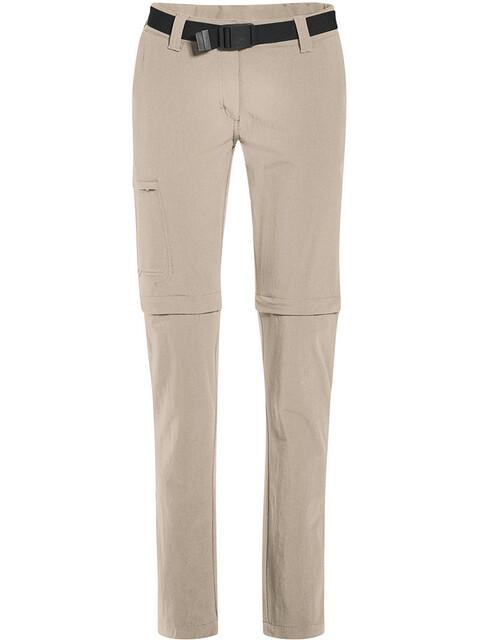 Maier Sports Inara Slim - Pantalon long Femme - Short beige